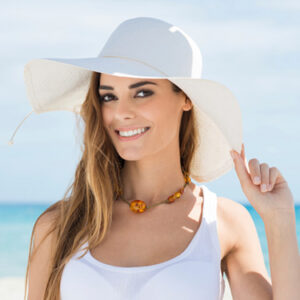 girl in hat Redondo Beach