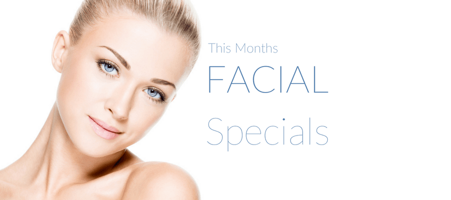 Facials Special Offer Label